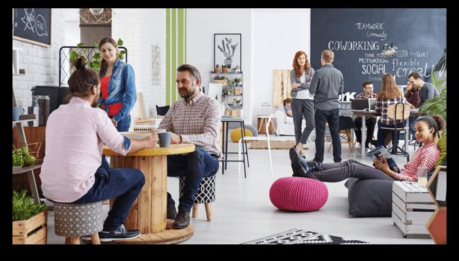 Espaços colaborativos